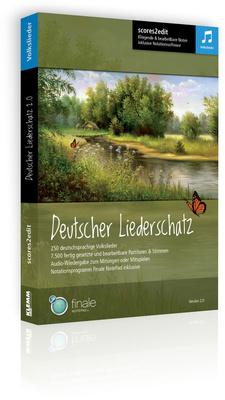 scores2edit Deutscher Liederschatz