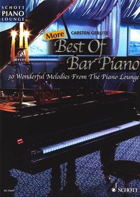 Schott More Best Of Bar Piano
