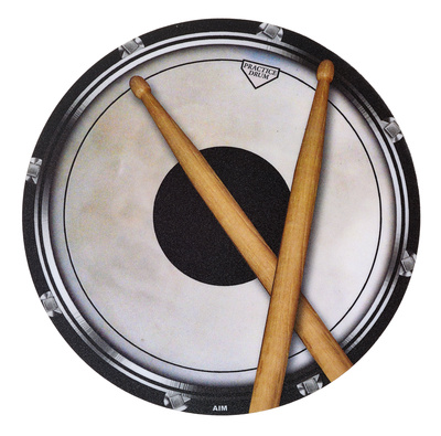 AIM Gifts Mouse Pad Drum Head And Sticks
