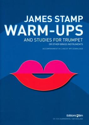 Editions Bim Warm-Ups And Studies Trumpet