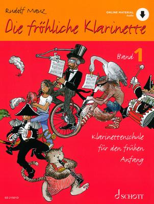 Schott Die Fröhliche Klarinette 1