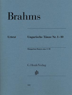 Henle Verlag Brahms Ungarische Tänze 1-10