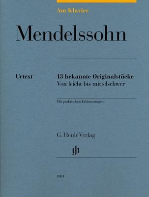 Henle Verlag Am Klavier Mendelssohn