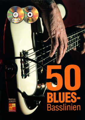 Play-Music Publishing 50 Blues-Basslinien