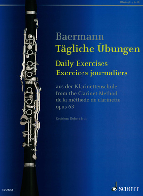 Schott Baermann Daily Exercises