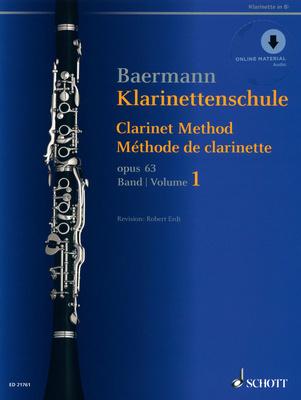 Schott Baermann Clarinet op.63 Vol.1