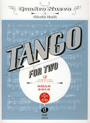 Edition Dux Tango For Two Cello