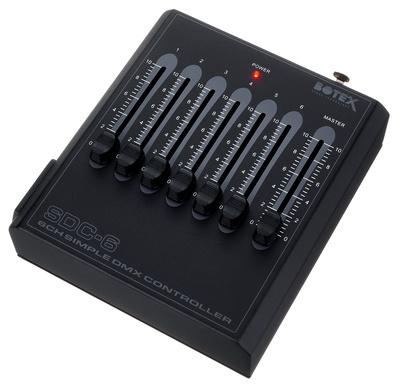 Controller DMX SDC-6