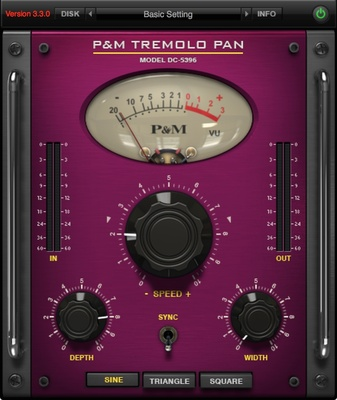 Plug And Mix Tremolo Pan