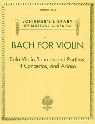 G. Schirmer Bach For Violin