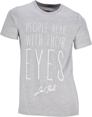 Les Paul Merchandise T-Shirt People Hear With XL