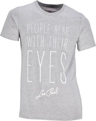 Les Paul Merchandise T-Shirt People Hear With XXL