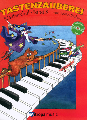 Mitropa Music Tastenzauberei 3 + CD