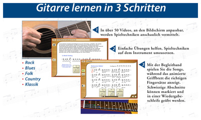 Emedia Gitarren Schule - Mac