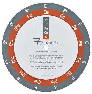 CM Piano Music Verlag 7-Zirkel / Quintenzirkel