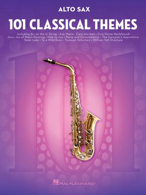 Hal Leonard 101 Classical Themes Alto Sax