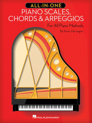 Hal Leonard All-In-One Piano Scales,Chords