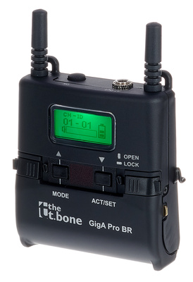 the t.bone GigA Pro Bodypack Receiver