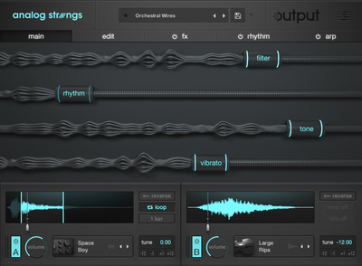 Output Analog Strings EDU