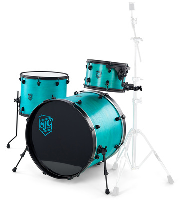 SJC Drums Pathfinder 3-piece shell set 2