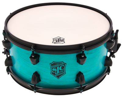 "SJC Drums 14""""x6,5"""" Pathfinder Snare Teal"