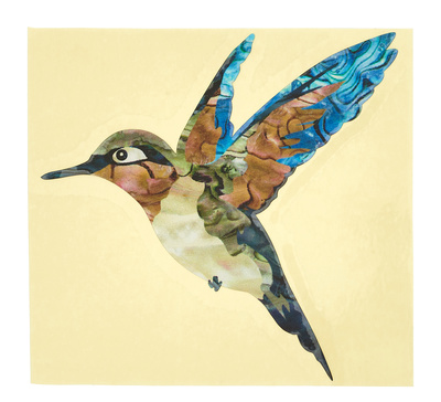 Jockomo Hummingbird Inlay Sticker