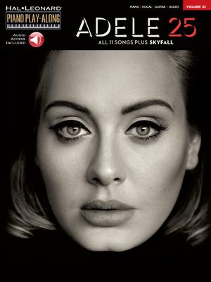 Hal Leonard Piano Play-Along Adele 25