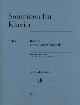 Henle Verlag Sonatinen für Klavier 1