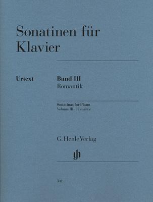 Henle Verlag Sonatinen für Klavier 3