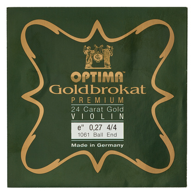 Optima Goldbrokat 24K Gold e