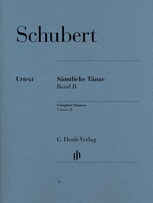 Henle Verlag Schubert Sämtliche Tänze 2