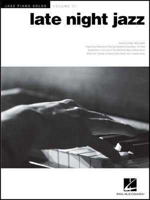 Hal Leonard Jazz Piano Solos Late Night