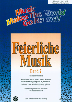 Siebenhüner Musikverlag Feierliche Musik Vol.2 A-Sax