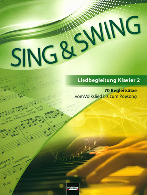 Helbling Verlag Sing & Swing Klavierbegleitung