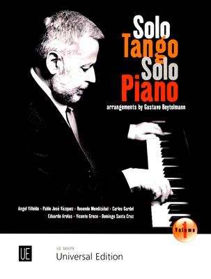 Universal Edition Solo Tango Solo Piano