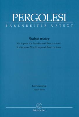 Bärenreiter Pergolesi Stabat Mater