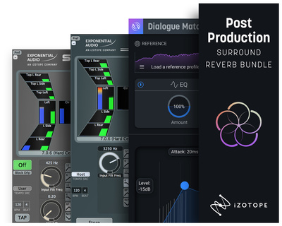 iZotope Post Pro Surround Reverb Bdl