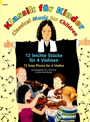 Schott Klassik for Kinder 4 Violinen