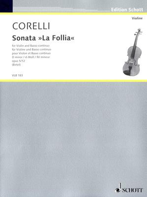 Schott Corelli La Follia Violin