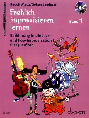 Schott Fröhlich improvisieren Flute