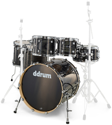 DDrum Dominion 6pc Shell Pack Black
