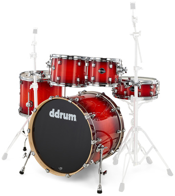 DDrum Dominion 5pc Shell Pack Red