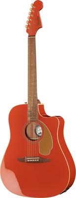 Fender Redondo Player WN Fiesta Red