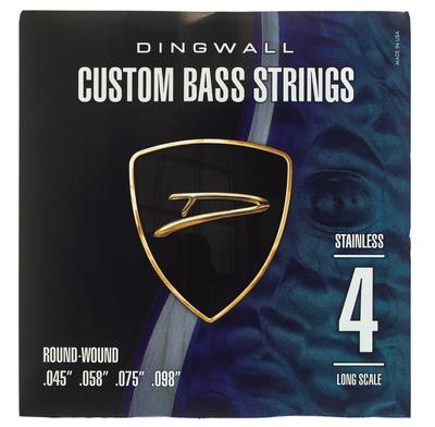 Dingwall 4-Str. Bass 045-098 Set RW SS