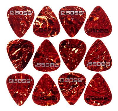 Boss Celluloid Pick Pack TH Shell