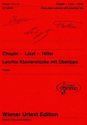 Wiener Urtext Edition Chopin - Liszt - Hiller Piano