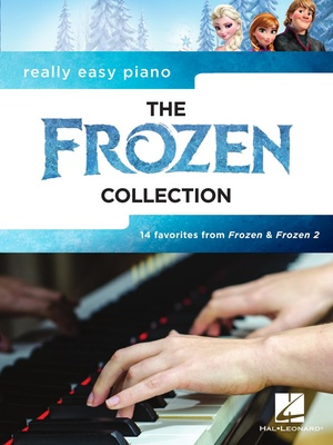 Hal Leonard Really Easy Piano Frozen Coll
