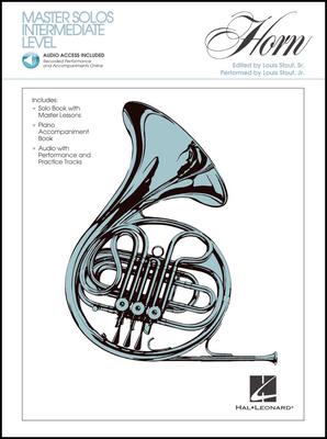 Hal Leonard Master Solos Intermediate Horn