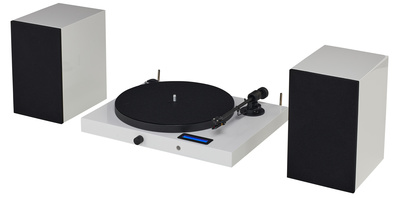 Pro-Ject Juke Box E HiFi Set white