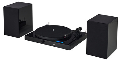 Pro-Ject Juke Box E HiFi Set black